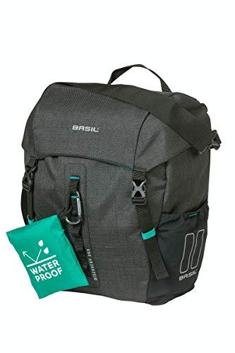 Basil Unisex– Erwachsene Einzelpacktasche-2179234770 Einzelpacktasche, schwarz Melee, 9 L