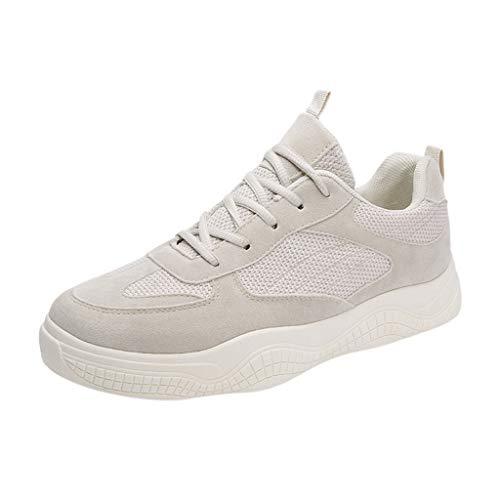 Zarupeng Lace-Up Board Sneakers voor heren, platte sportschoenen, ademend