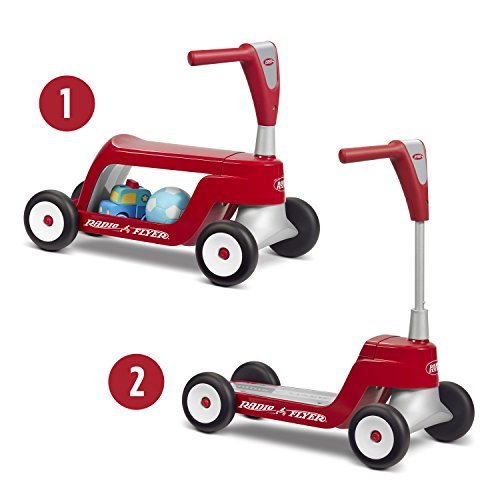 Radio Flyer Scoot 2 Scooter, Toddler Scooter or Ride on,...