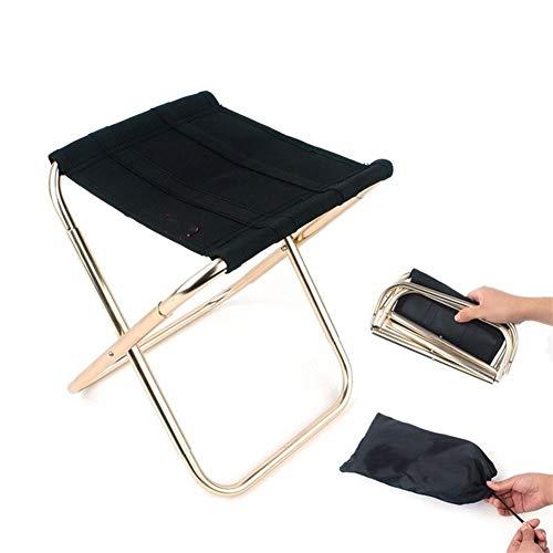 XuCesfs Chaise pliante d'extérieur en alliage d'aluminium Noir Taille XL