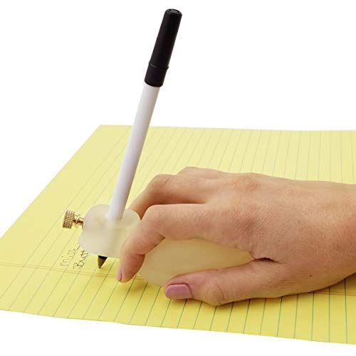 Writing Aide for Adults, Children. Achieva Writing-Bird Handwriting Aid, Pencil Pen Holder. Right or Left Handed Writing Device - Arthritis, Tremors, Stroke, Neurological Disorder, Carpal Tunnel.