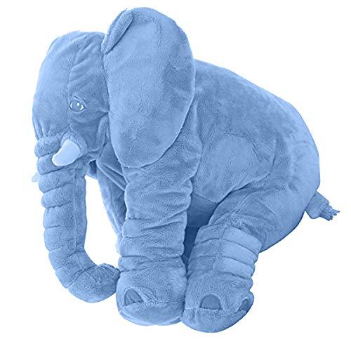 DearJoy Baby Elephant Pillow (Blue)