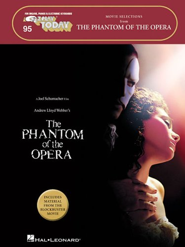 Phantom Of The Opera - Movie Selections E-Z Play Today 95 Mlc Book: Songbook für Gesang (Singstimme)