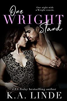 One Wright Stand: A One-Night Stand Small Town Romance (Wright series) by [K.A. Linde]