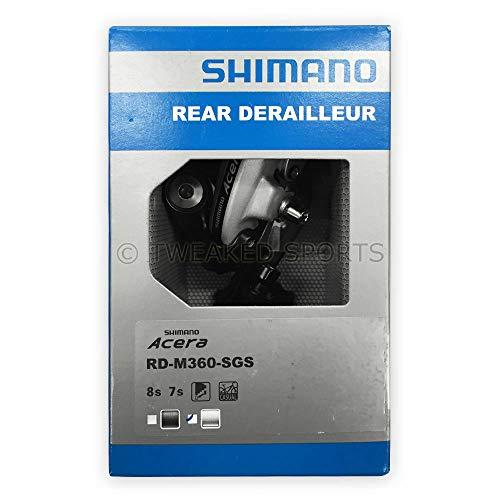 SHIMANO RD-M360 Acera SGS Rear Derailleur, Silver
