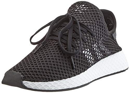 adidas Herren Originals Deerupt Runner BD7890 Fitnessschuhe, Schwarz (Negbás/Ftwbla/Negbás 000), 41 1/3 EU