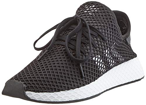 Adidas Deerupt Runner, Zapatillas Hombre, Negro (Core Black/Footwear White/Core Black 0), 42 EU