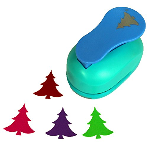 CADY 2-Inch Design Christmas Tree Paper Punch for Scrapbooking Craft DIY Puncher (Christmas Tree)