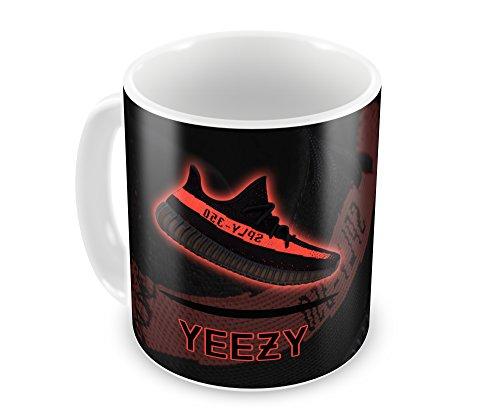 Sneaker Staff Tasse Yeezy 350V2Red