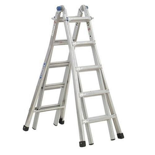 Werner MT-17 telescoping-ladders, 17-Foot