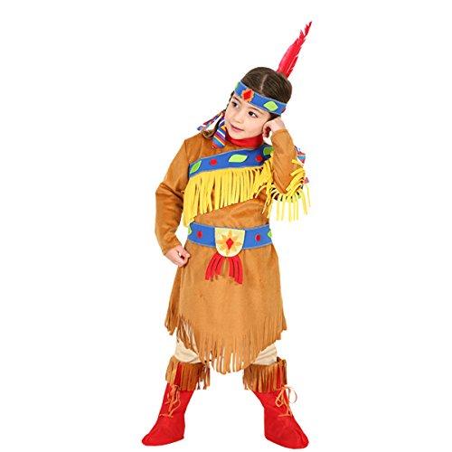 Pegasus Disfraz de máscara de carnaval Baby – Indiana Pocahontas – Talla 4/5 años – 83 cm