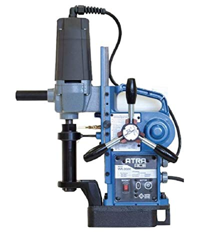 Affordable Nitto Kohki Atra Ace WA-3500 Portable Semi-Automatic Drilling Machine, 1-3/8 X 2 Hole D...