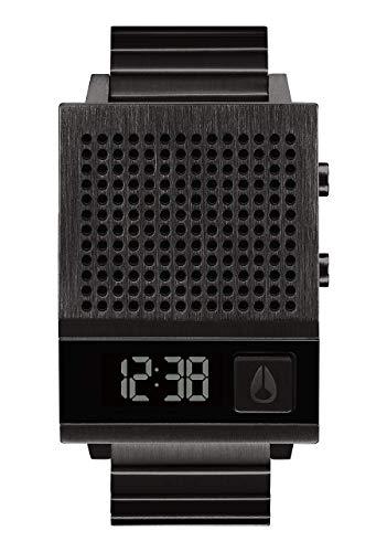 Nixon Reloj Hombre de Digital con Correa en Acero Inoxidable A1266-001-00