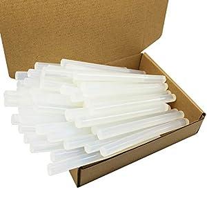 DDSTG 40 Piezas Barras de Pegamento Caliente 11x150mm Adhesivo Transparente para Pistola de Pegamento Termofusible de 11mm