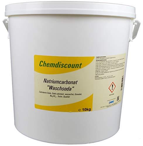 10kg Soda (Waschsoda Natriumcarbonat Na2CO3 calcinierte Soda) Granulat
