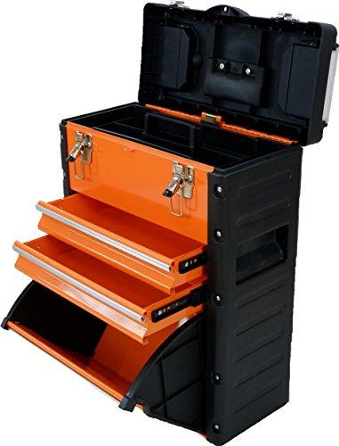 METALL Werkzeugtrolley sehr kompakt Type A1-O von AS-S