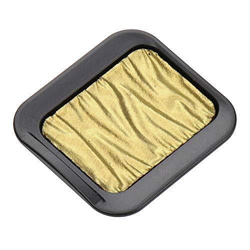 Finetec Premium Pearlescent Watercolor Pan Refill, Rich Gold (F7201C)