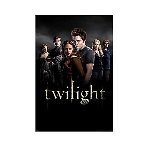 Christ-EZ Twilight Group Cast Vampiro Drama Romance Fantasía Película Imprimir Unframe: 30 × 45 cm