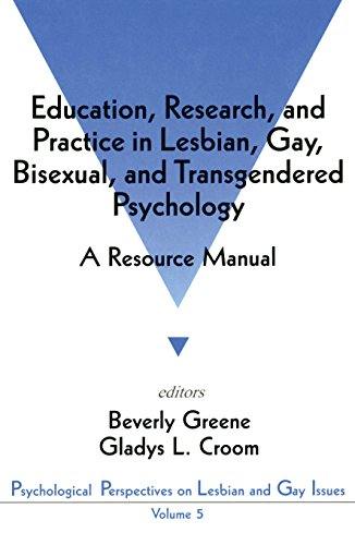 Education, Research, and Practice in Lesbian, Gay, Bisexual, and Transgendered Psychology: A Resourc