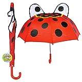 """Rhode Island Novelty 28"""" Ladybug Umbrella"""