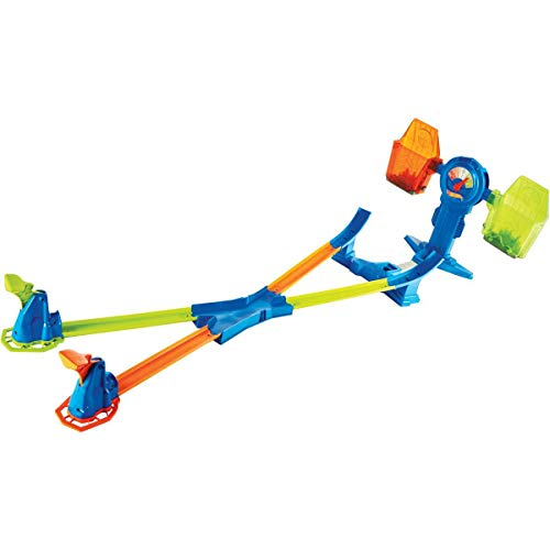 Hot Wheels FRH34 Action Balance Breakout Trackset, Spielset für Wettbewerbspiele inkl. 1 Spielzeugauto, für 1 bis 2 Spieler, ab 6 Jahren