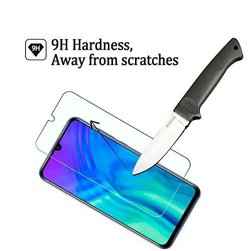 Widamin 2Pack, Panzerglas Schutzfolie für Honor 20 Lite, Displayschutzfolie, Hohe Auflösung Glas, [9H Härte], [Crystal Clearity], [No-Bubble] Compatible für Huawei Honor 20 Lite - 3