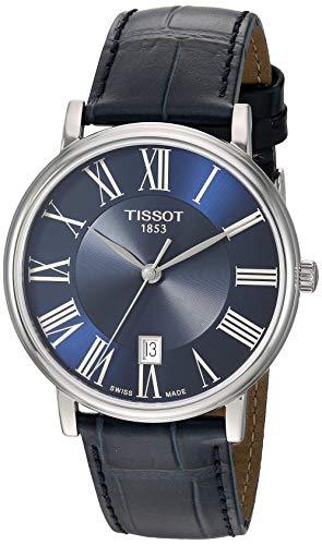 Tissot Unisex Carson Swiss Quartz Stainless Steel Dress Watch (Model:...