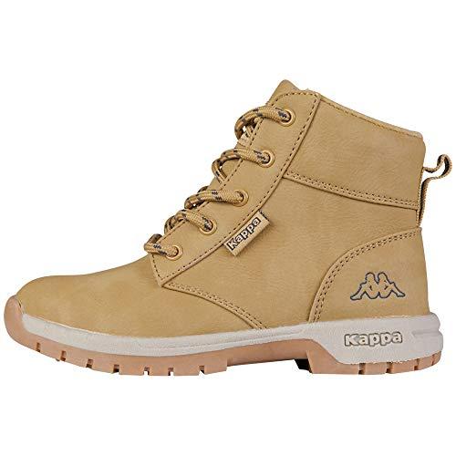 Kappa Cammy K Footwear Kids, Botas Clasicas Niñas, Beige-Beige (4167 Beige/Navy), 32 EU