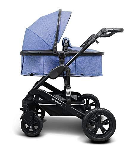 Cynebaby Kombi-Kinderwagen California Luxe (blau)