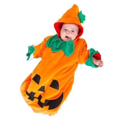 Imaginarium MY 1ST Sleeping-Bag Halloween-Xmas 56-68 CM Disfraz de bebé Reversible Halloween-Navidad