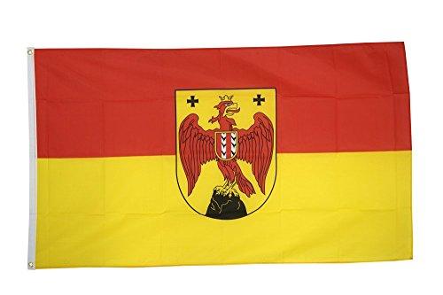 Flaggenfritze Fahne/Flagge Österreich Burgenland + gratis Sticker