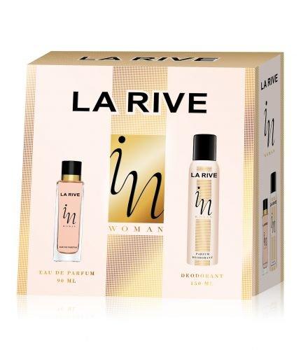 "La Rive ""In Woman"" Set EDP 90ml + Deodorant 150ml"