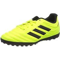 adidas Copa 19.4 TF J, Botas de Fútbol Unisex Niño, Multicolor (Solar Yellow/Core Black/Solar Yellow 000), 34 EU