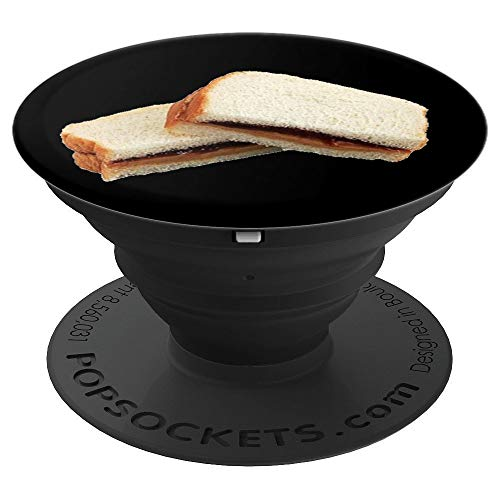 Peanut Butter & Jelly Sandwich PopSockets Grip and Stand for Phones and Tablets