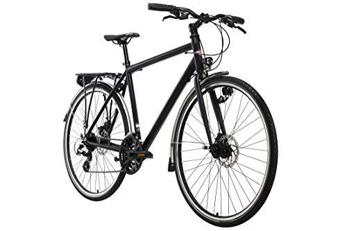 KS Cycling Trekkingrad Herren 28'' Norfolk schwarz Aluminiumrahmen RH 53 cm