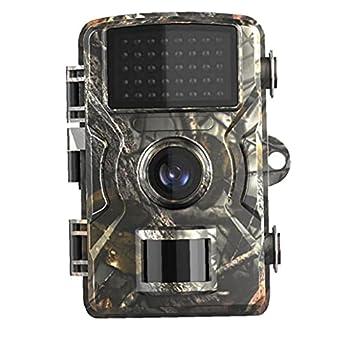 Caméra De Sentier Night Vision, Caméra Faune De Jeux De Jeux De Vision De La Vision Nocturne 1080p Étanche pour L'extérieur