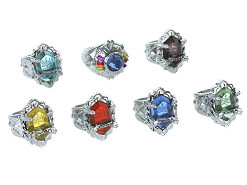 CoolChange Katekyo Hitman Reborn Set of the real Vongola rings