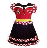 Lito Angels Niñas Vestido de Minnie Disfraz Cumpleaños Disfraces Ropa Informal Talla 3-4 años