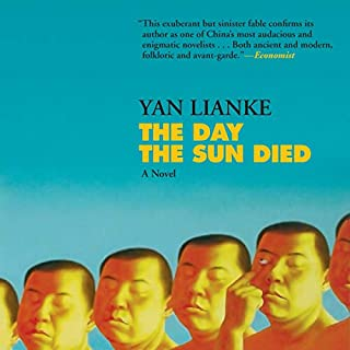 The Day the Sun Died audiobook cover art