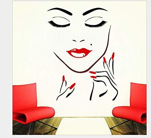 Wandaufkleber Kinderzimmer Beauty Eyes Generation Geschnitzt Europäische Und Amerikanische Dekorative Persönlichkeit Wandaufkleber Wohnzimmer Schlafzimmer Sofa Studie Beauty Salon Hintergrund Wand 60