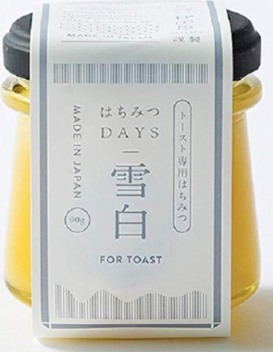 秋田屋 トースト専用はちみつ 雪白 はちみつDAYS 90g