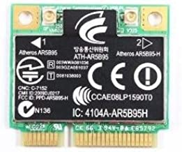 AR5B95 AR9285 Wireless 802.11BGN PCI-E Half Mini Card SPS: 605560-005 USE FOR HP CQ56 CQ62 G62 CQ42 CQ43