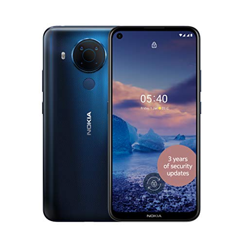 Nokia 5.4 6.39 Inch Android UK SIM Free Smartphone with 4 GB RAM and 64 GB...