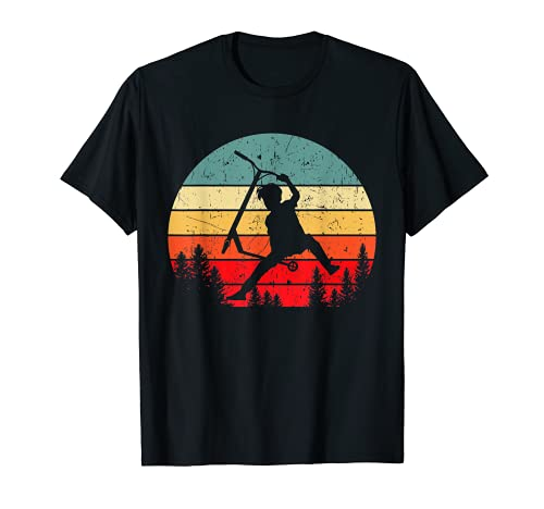 Scooter Stunt Tretroller Geschenkidee Kinder & Teenager T-Shirt