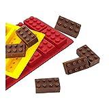Muffins y tinas y moldes. Rectangular bloques de hielo de la bandeja del molde del cubo del silicón del chocolate del molde de pastel de jalea molde for Aroma (Color : A)