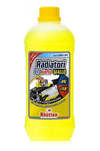 Rhütten 200180 Liquido Radiatori, Giallo, 1L
