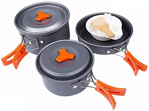 XHLLX Estufas para Acampar, Kochkit Portátil para Cocinar Al Aire Libre, Pesca Al Aire Libre Cocina