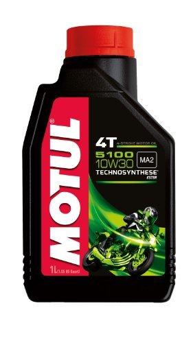 MOTUL OIL 5100 10W30 4T BLEND1L 104062 by Motul