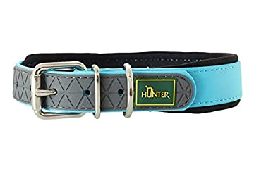 Unempfindliches Hundehalsband ideal für Hundetraining und Ausbildung, auf dem Hundeplatz und in der Freizeit Auch für die Jagd und Fährtenarbeit geeignet Mit strapazierfähigem Kunststoffmaterial, anschmiegsam und glatt, eine weiche Polsterung aus Neo...
