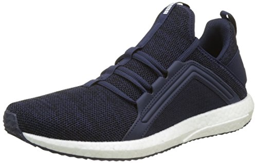 Puma Herren Mega NRGY Knit Cross-Trainer, Blau (Peacoat White), 45 EU